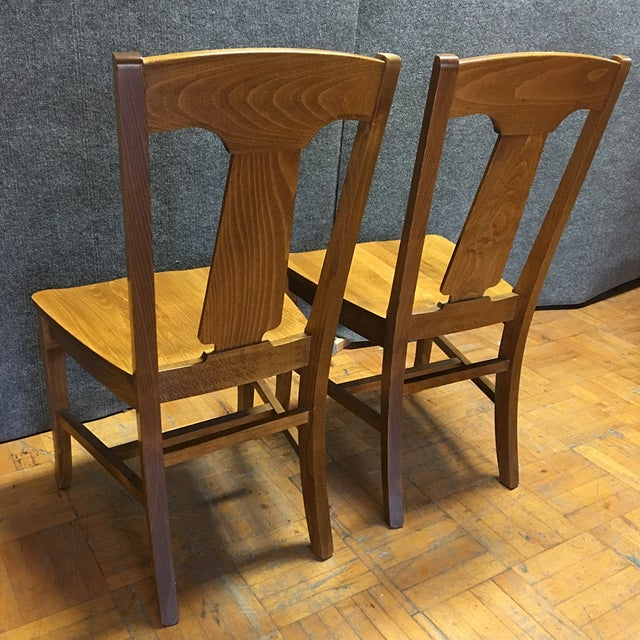 Pottery Barn Loren Dining Chairs - A Pair - Image 5 of 5