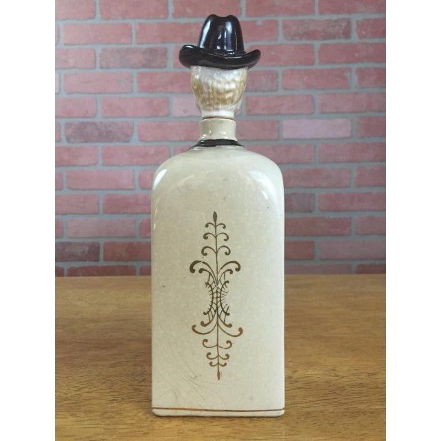 Boho Chic Bourbon Decanter For Sale - Image 3 of 6