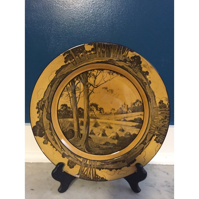 Arts & Crafts Plate by Royal Doulton - Image 4 of 4