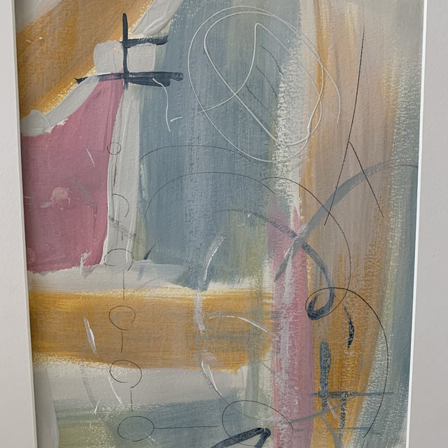 Abstract Original Works on Paper by Beth Berrs For Sale - Image 3 of 13