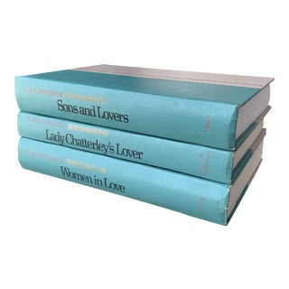 1960s Decorative DH Lawrence Books - Set of 3 For Sale