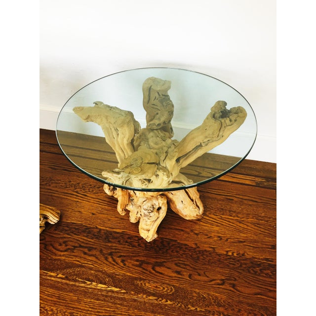 Vintage Grape Vine Side Tables - a Pair - Image 5 of 6