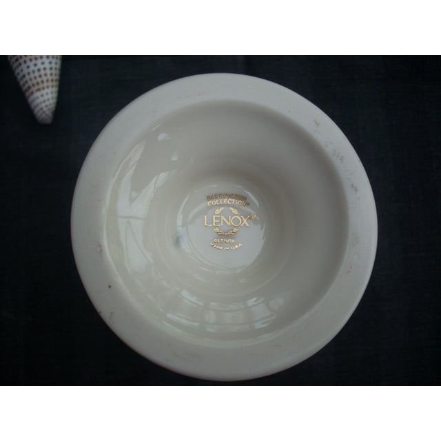 Lenox White Porcelain Vase - Image 5 of 5
