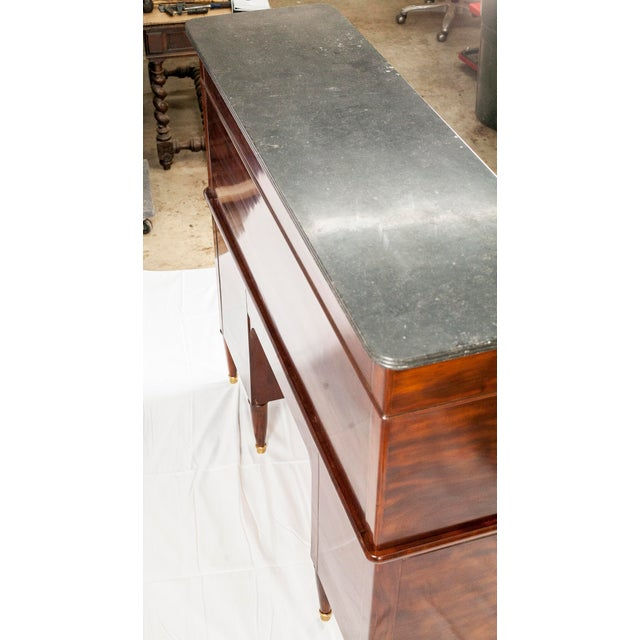 19th Century Louis XVI Cylinder Bureau For Sale - Image 11 of 13