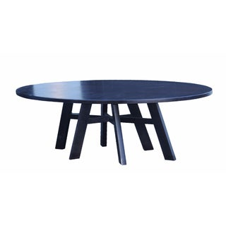 Christian Liaigre Oval Dining Table