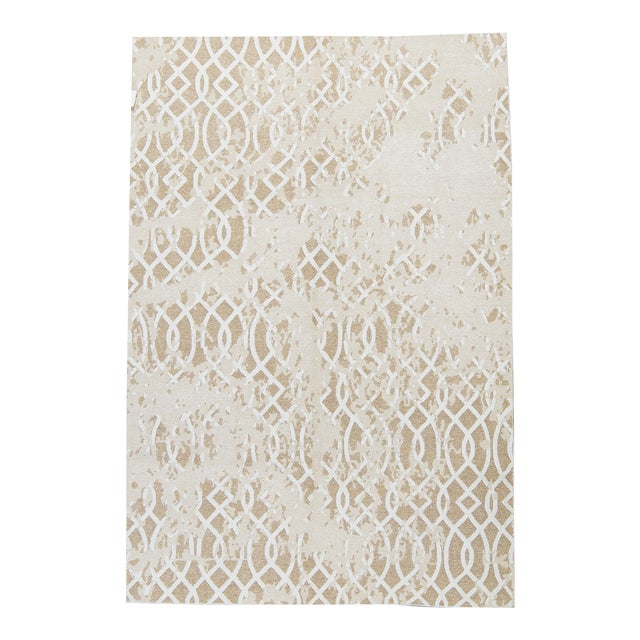 Contemporary Hand Woven Sumak Rug - 6' X 8'10 - Image 1 of 4