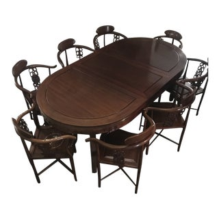 Asian Dining Room Set For Sale