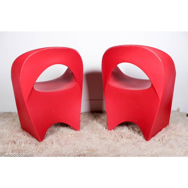 """Soft line Allkit Mid-Century """"Space Age"""" Jet Chairs - Set of 4 - Image 7 of 9"""