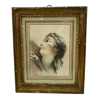 Antique French Hand Colored Lithograph by G. W. Thomley C.1880 For Sale