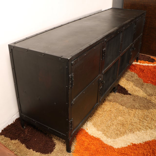 Industrial Iron Cabinet - Image 8 of 10