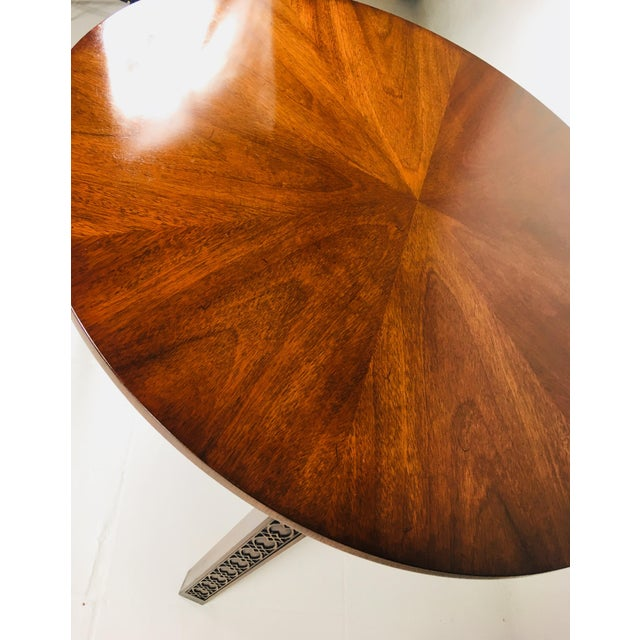 1950s 1950s Chippendale Kindel Mahogany Center Table For Sale - Image 5 of 11