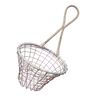 Copper Wire Wall Hanging Basket For Sale