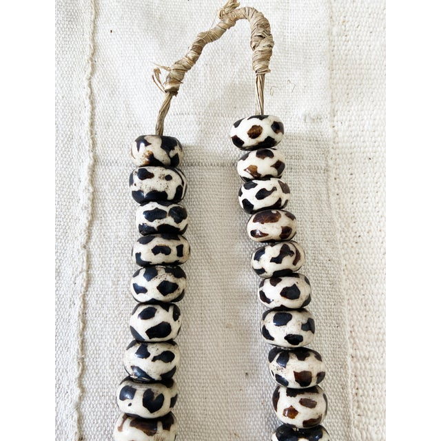 Textile African Jumbo Bone Trading Beads For Sale - Image 7 of 10