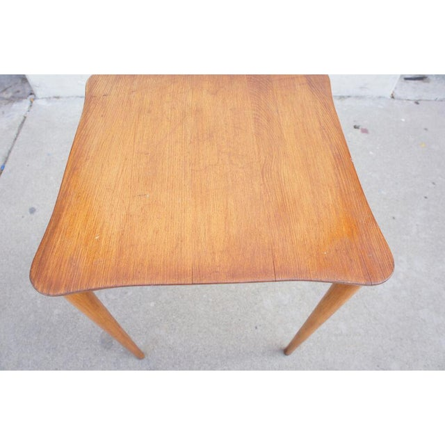 Vintage Oak Occasional Tables- A Pair For Sale In Los Angeles - Image 6 of 6