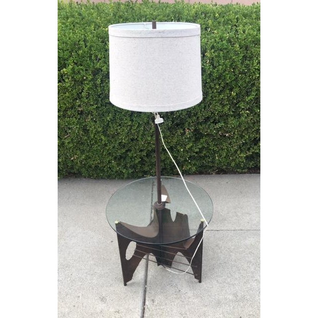 Harry Balmer Brutalist Torch-Cut Table Lamp - Image 2 of 4