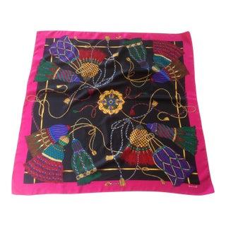 Echo Tassel Heirloom Silk Scarf For Sale