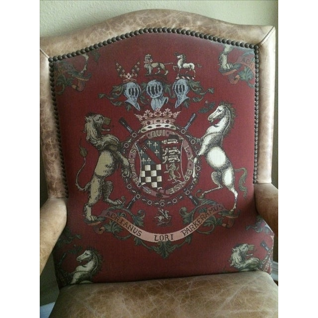 Ralph Lauren Leather Chairs - A Pair - Image 3 of 3