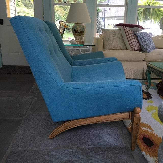 Mid-Century Gondola Chairs - A Pair - Image 4 of 6