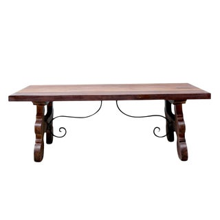 Spanish Colonial Tavernera Coffee Table For Sale