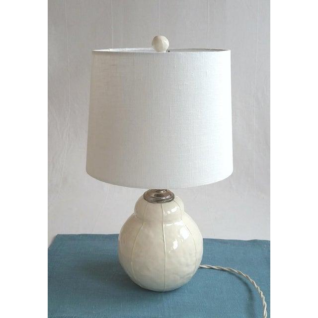 Contemporary Contemporary Scandinavian Handmade Ceramic Ball Finials - A Pair For Sale - Image 3 of 8