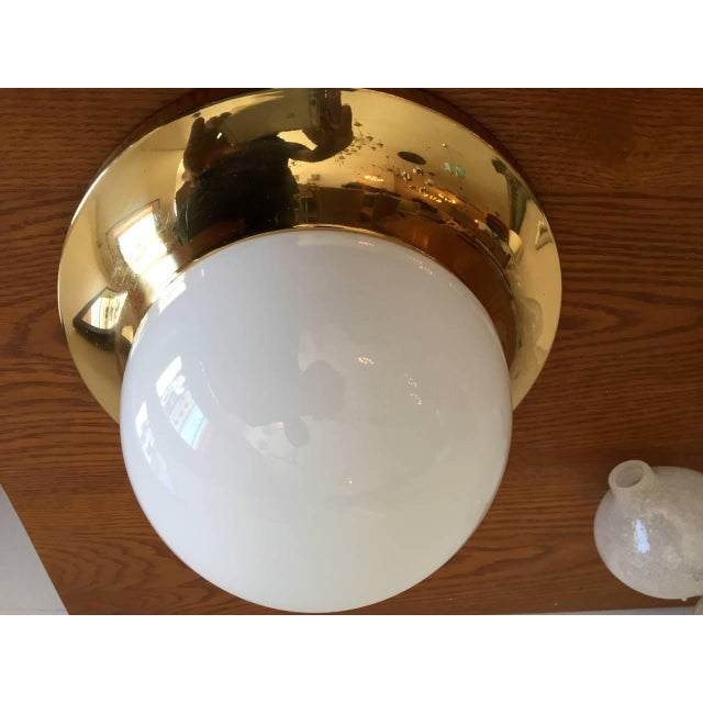 Space Age Austrian Flush Light For Sale In New York - Image 6 of 9