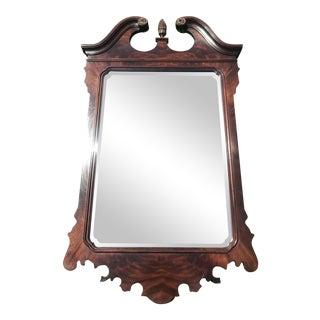 Walnut Mirror by Drexel Heritage For Sale