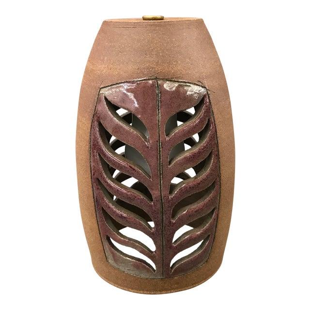 Brent Bennett Ceramic Pendant Lamp For Sale