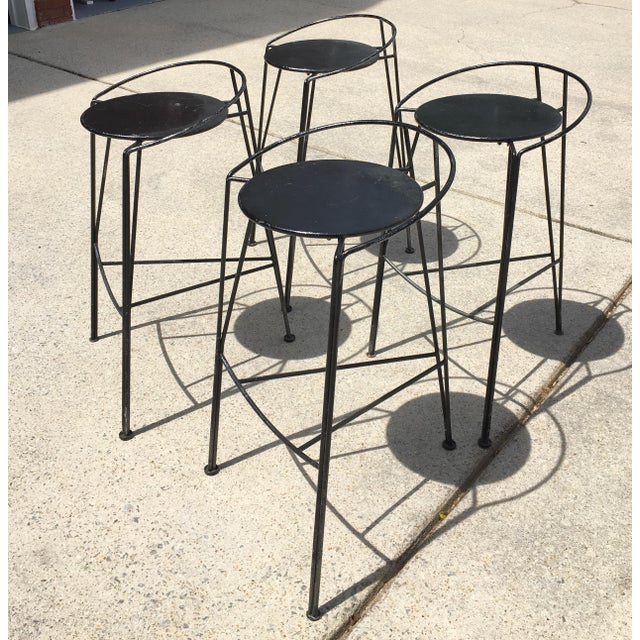 Pascal Morgue French Barstools - Set of 4 - Image 10 of 10