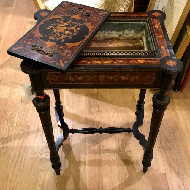 Antique Napoleon III Rococo Jardiniere Table C.1870
