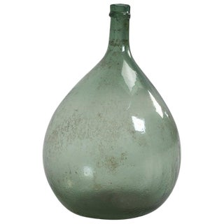 French Antique Demijohn in a Great Color