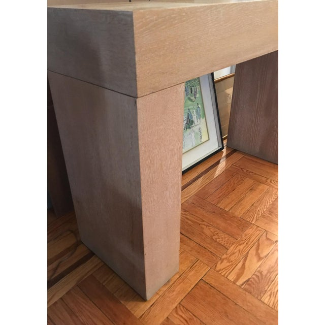 Modern Wood Console Table - Image 5 of 10