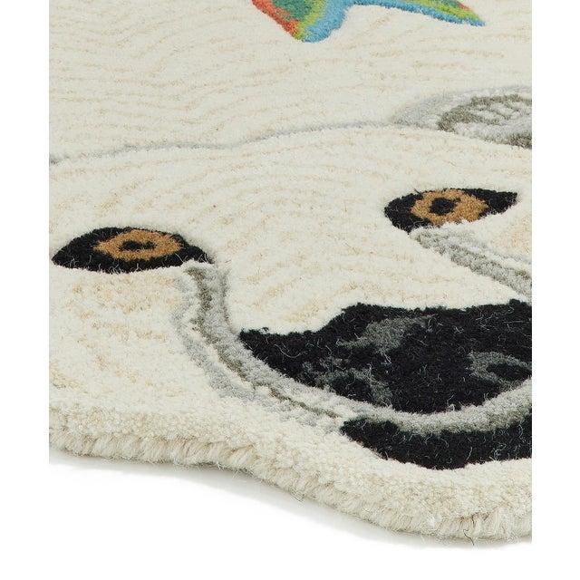Shabby Chic Doing Goods Kasbah Polar Bear Rug Large For Sale - Image 3 of 6