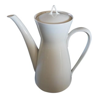 Rosenthal Classic Modern White Coffee Pot