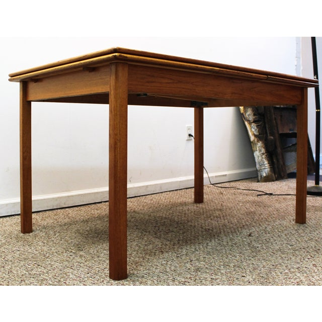 Mid-Century Danish Modern Teak Dining Table - Image 3 of 10
