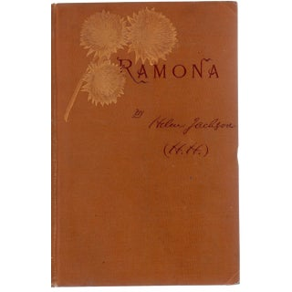 """1893 """"Ramona"""" Collectible Book For Sale"""