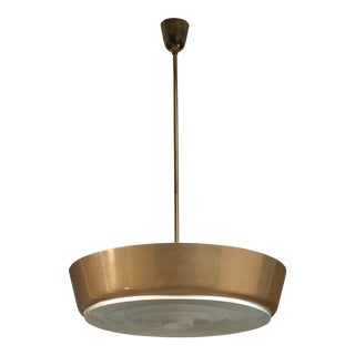 Large Lisa Johansson-Pape Pendant Lamp for Orno, Finland, 1950s For Sale