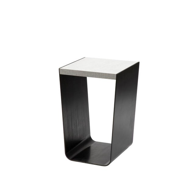 Contemporary Valley Side Table For Sale - Image 3 of 3