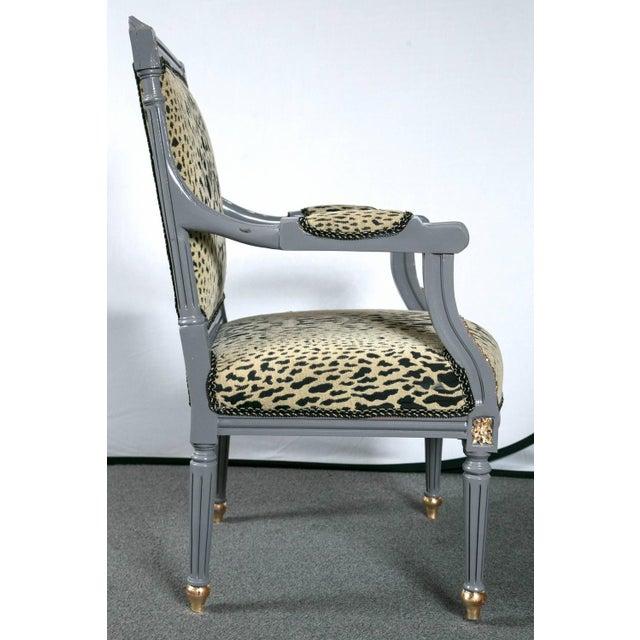 Maison Jansen Louis XVI Style Fauteuils - A Pair - Image 5 of 9