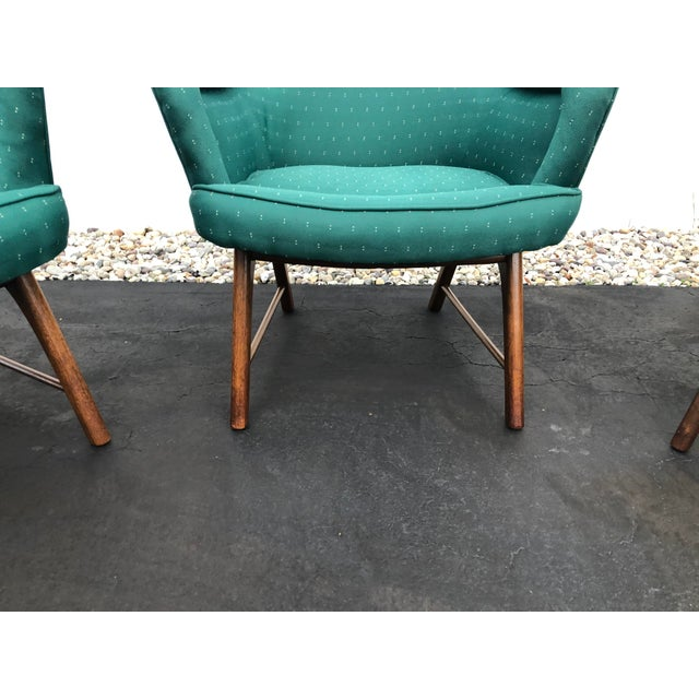 Adrian Pearsall Mid Century Pearsall Style Chairs- Set of 3 For Sale - Image 4 of 13