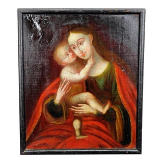 Unknown - Miraculous Image Of Insbruck Maria With Child After Cranach For Sale