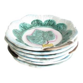 Vintage Ethan Allen Italy Majolica Ceramic Bowls - Set of 6 For Sale