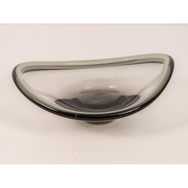 Holmegaard Small Biomorphic Smoke Bowl For Sale - Image 4 of 8