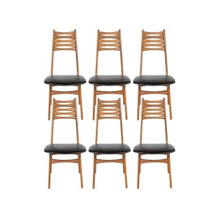 Vintage 1950 Kofod-Larsen Dining Chairs - Set of 6 For Sale