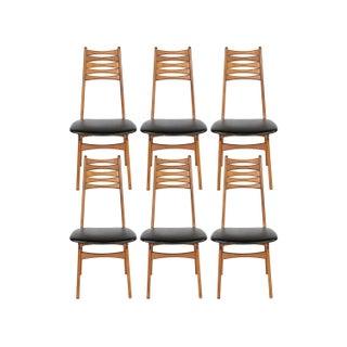 Vintage 1950 Kofod-Larsen Dining Chairs - Set of 6