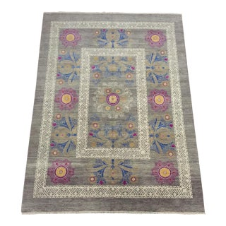 Contemporary Suzanne Hand-Knotted Wool Rug - 8′11″ × 12′2″ For Sale