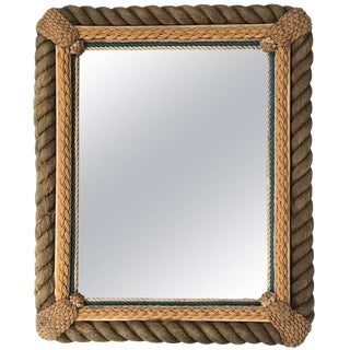 Sailor Made Nautical Ropework Mirror For Sale