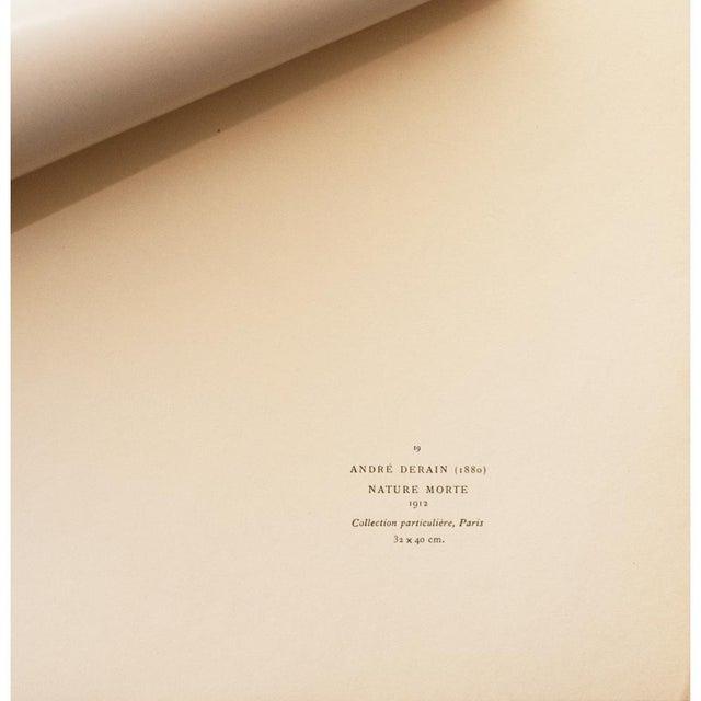 "1940s 1947 André Derain Original Period ""Still Life"" Lithograph For Sale - Image 5 of 8"