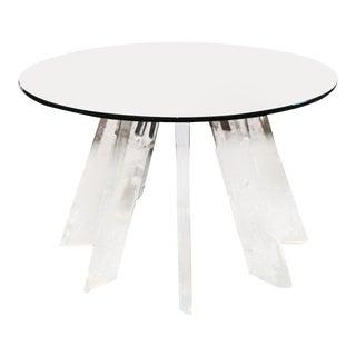1960s Vintage Acrylic Table