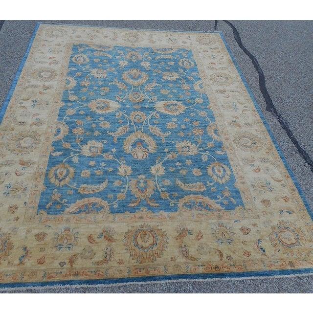 Oushak Design Hand Woven Oriental Rug - 8' X 11' - Image 3 of 11