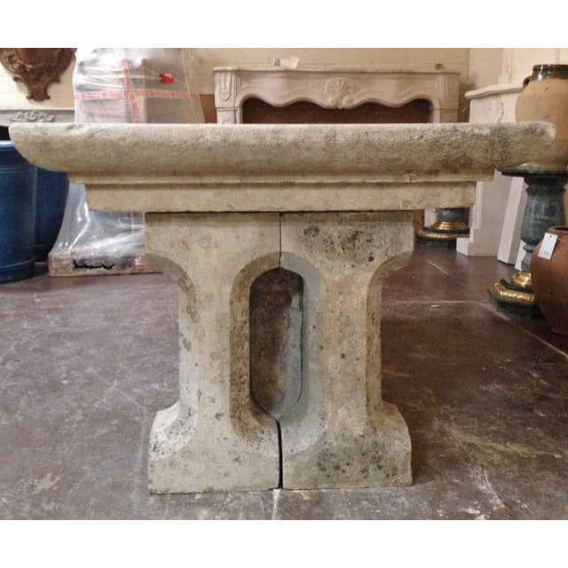 Gothic 18th Century Gothic Stone Table For Sale - Image 3 of 5